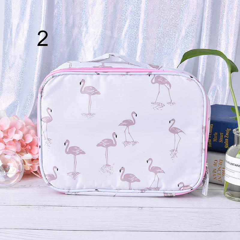 2019 Animal Flamingo Cosmetic Bag Toiletry Beauty Wash Case Women Travel  Function Makeup Bag Zipper Make Up Organizer Storage Pouch From Drdre c40f7536a1246