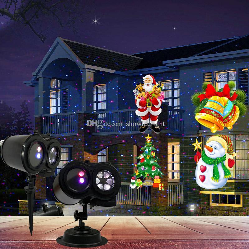 Led Weihnachtsbeleuchtung Laser.2018 7w Led Muster Laser Party Disco Licht Ip44 7v Garten Festival Weihnachtsbeleuchtung Dekoration 60 300 Quadratmeter 230v Freies Verschiffen