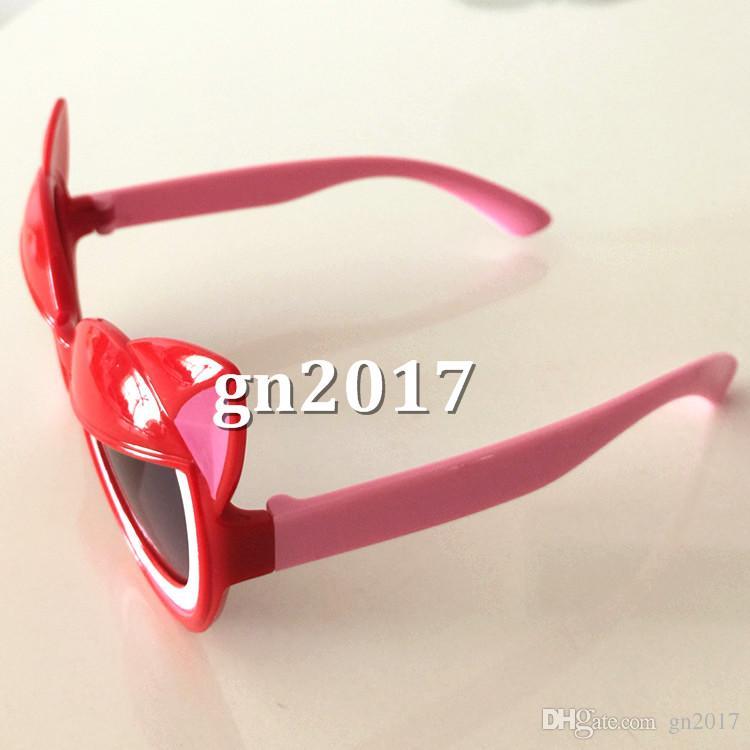 NEUE nette Kind-Karikatur-Sonnenbrille Junge Mädchen Sun-Glas-Baby-UV-Schutz-Gläser Brillen fünf Farben erhältlich
