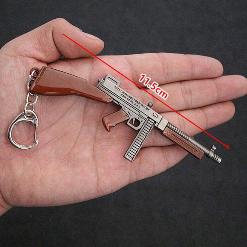 cf7274e13c PUBG Playerunknown's Battlegrounds KeyChain Level Frying Pan Weapon Model  Shape Keyring Key Chain Wholesale Keyfob Key Ring Accessories Gift