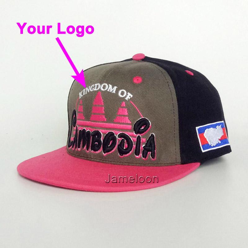 Snapback şapka 3D dikişler topu kap ismarlama logo futbol tenis spor yapış geri beyzbol hip hop şapka özel şapka