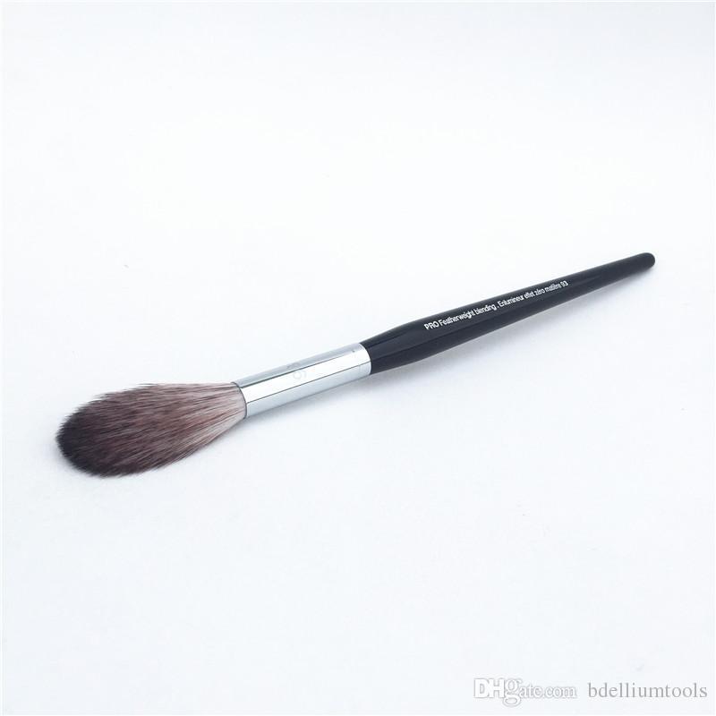 PRO Featherweight Blending Brush #93 - Fluffly Highlight Powder Blender Brush - Beauty Makeup Brush Blender