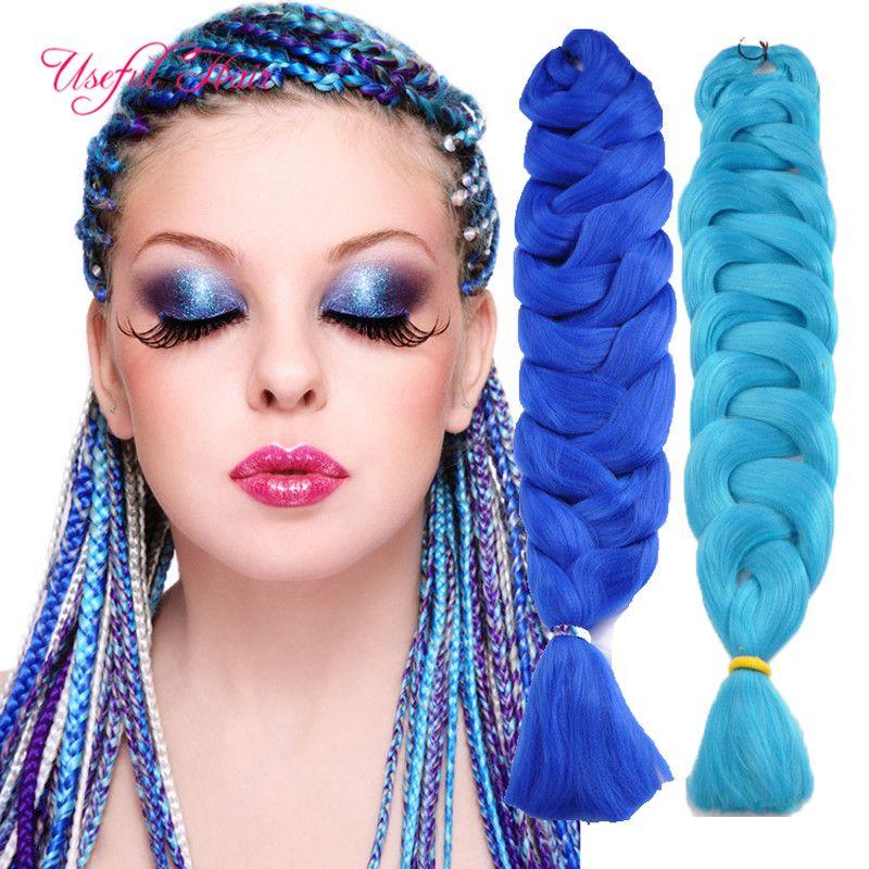 82inch Jumbo braiding hair crochet braids Xpression Braiding Hair Extension Synthetic Hair For box Braids 165g marley twist