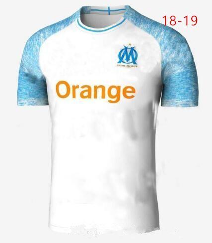 18b58fd367c1 2019 Marseille Jersey 2018 2019 OM Marseilles Football Shirt Foot ...