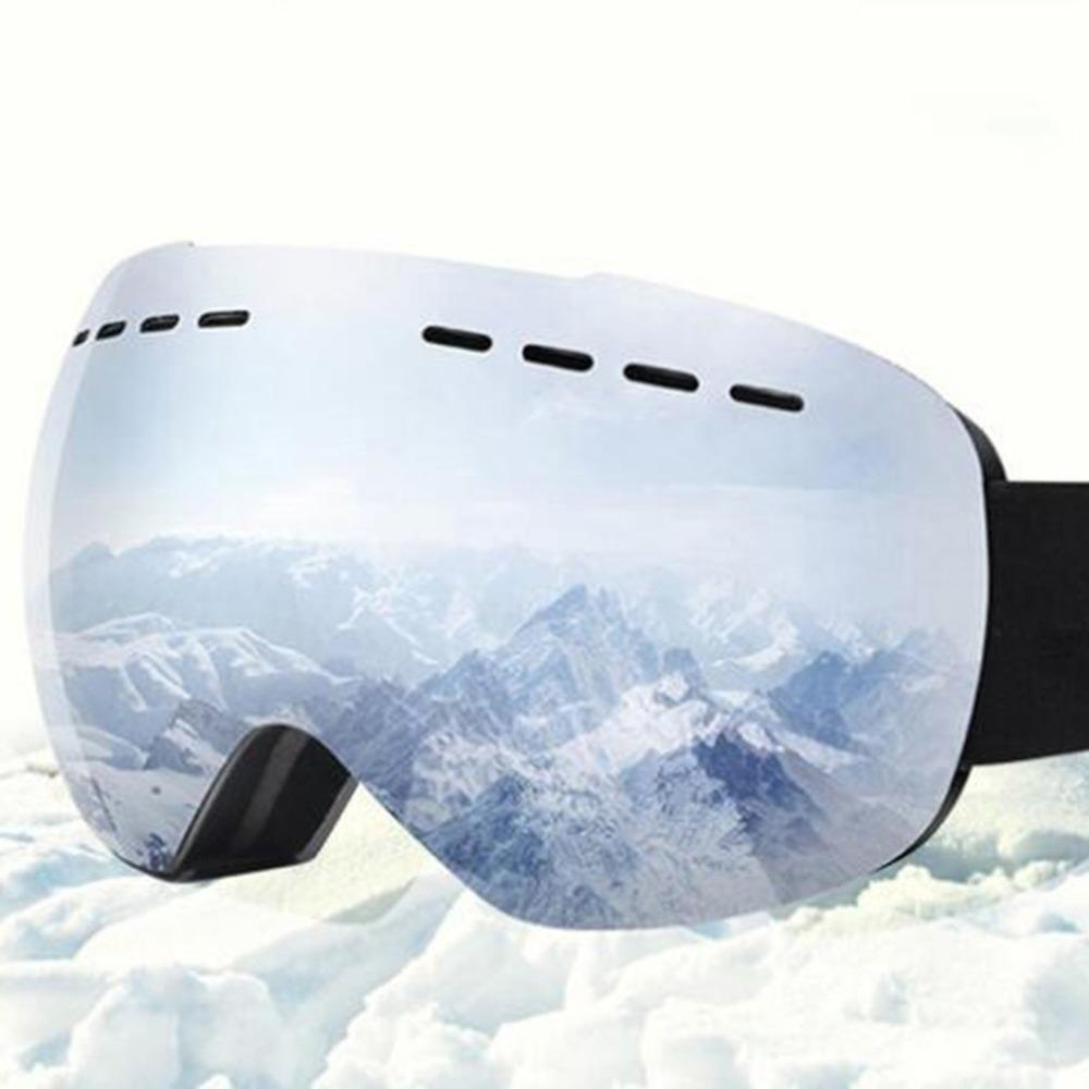 db8763005f79 2019 Ski Goggles Anti Fog Mirrored Lens Snowboard Snow Goggles For Men  Women Youth For Skating Snowmobile From Peachguo