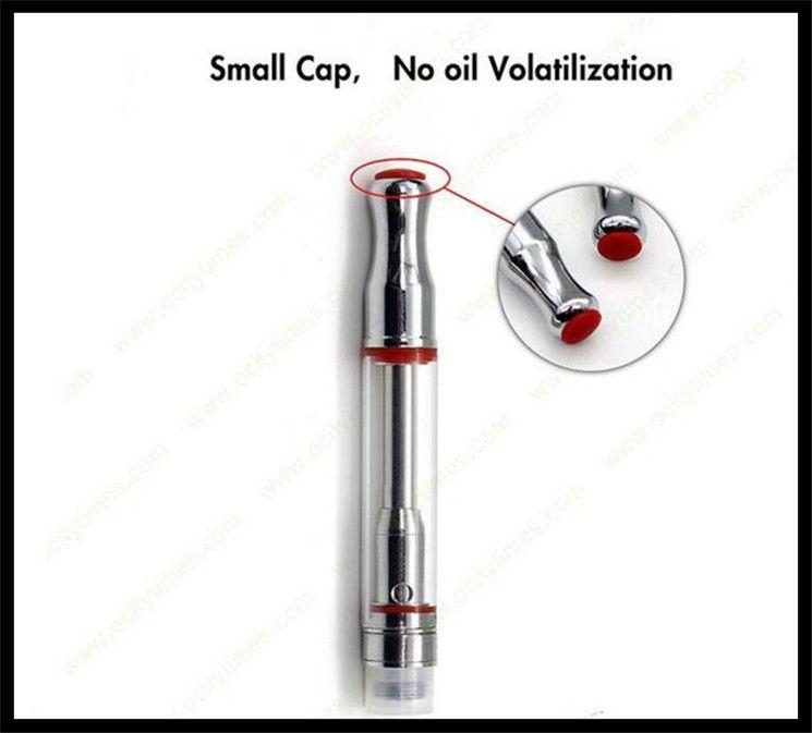 newest glass cartridge adjustable hole vape cartridge vaporizer bud touch e cigarette mini bho oil vaporizer tank NANO glass tank 2018