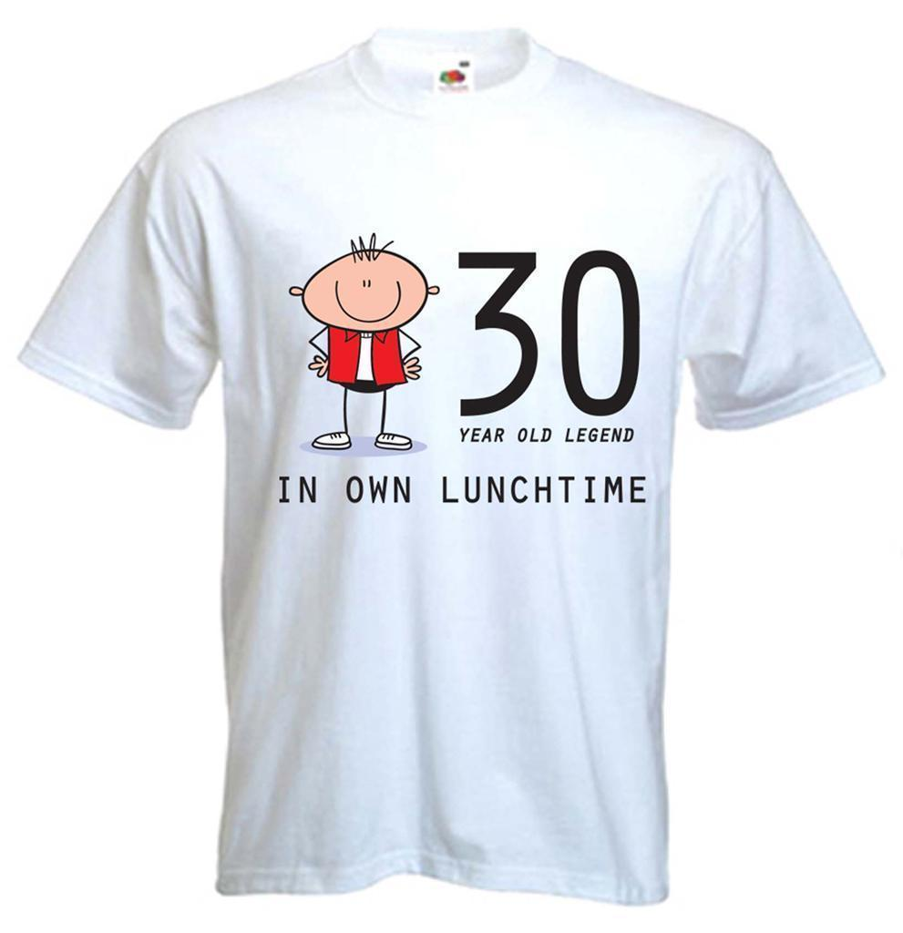 30 YEAR OLD LEGEND T SHIRT 30th Birthday Gift Present Sizes Small To XXXL Tee S It Shirts From Linnan00008 1467