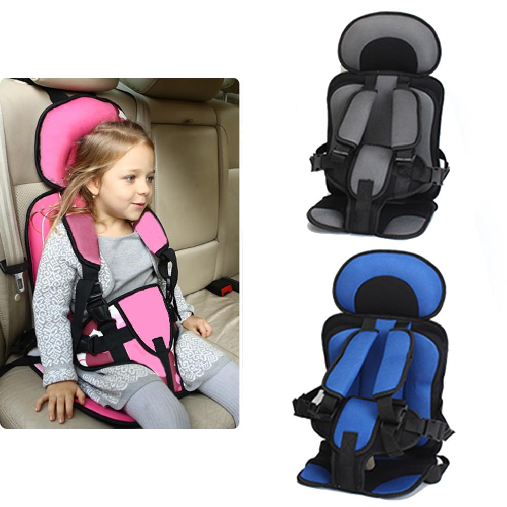 Kids Car Seat Cushion Infant Safe Seat Portable Baby Protable Safety Children S Chairs Soft Cushion Thickening Sponge Pad