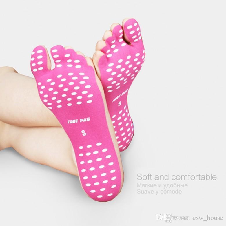새로운 실리콘 남여 비치 발 패치 패드 Insoles 남자 편안한 방수 보이지 않는 미끄럼 방지 신발 매트 여성 발 패드 패치