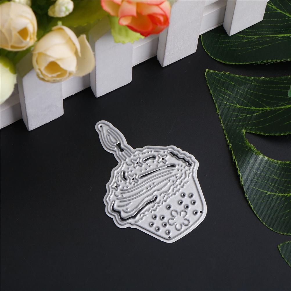 Bricolage Scrapbooking album Craft meurt Crème glacée Stencil métal Couteaux de coupe coupe Dies pratique
