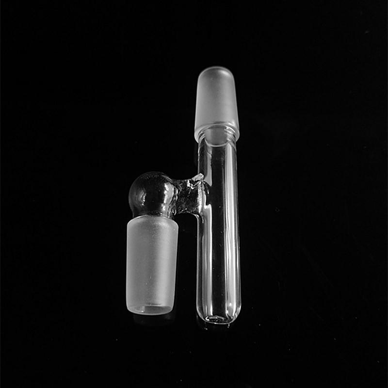 2018 Glass Reclaim adapter Male/Female 14mm 18mm Joint Glass Reclaimer adapters Ash Catcher for Oil Rigs Glass Bong