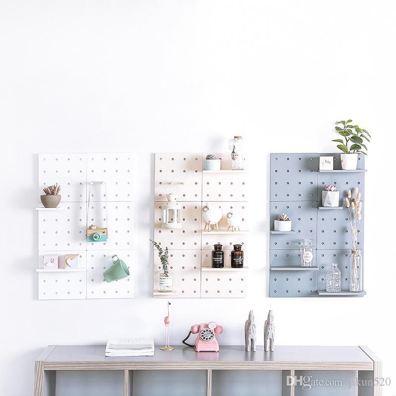 Wohnzimmer Dekoration Regal Veranstalter Einstellbare Küche Lagerregal  Kunststoff Bad Regale Für Wand Küche Zubehör