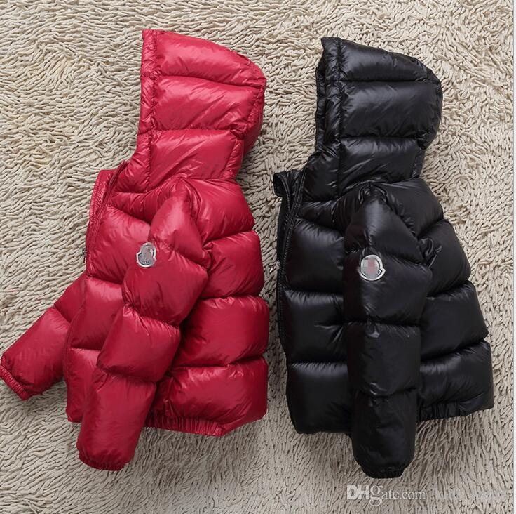 2018 winter down jacket parka for girls boys coats , 90% down jackets children's clothing for snow wear kids outerwear & coats 3T-10T