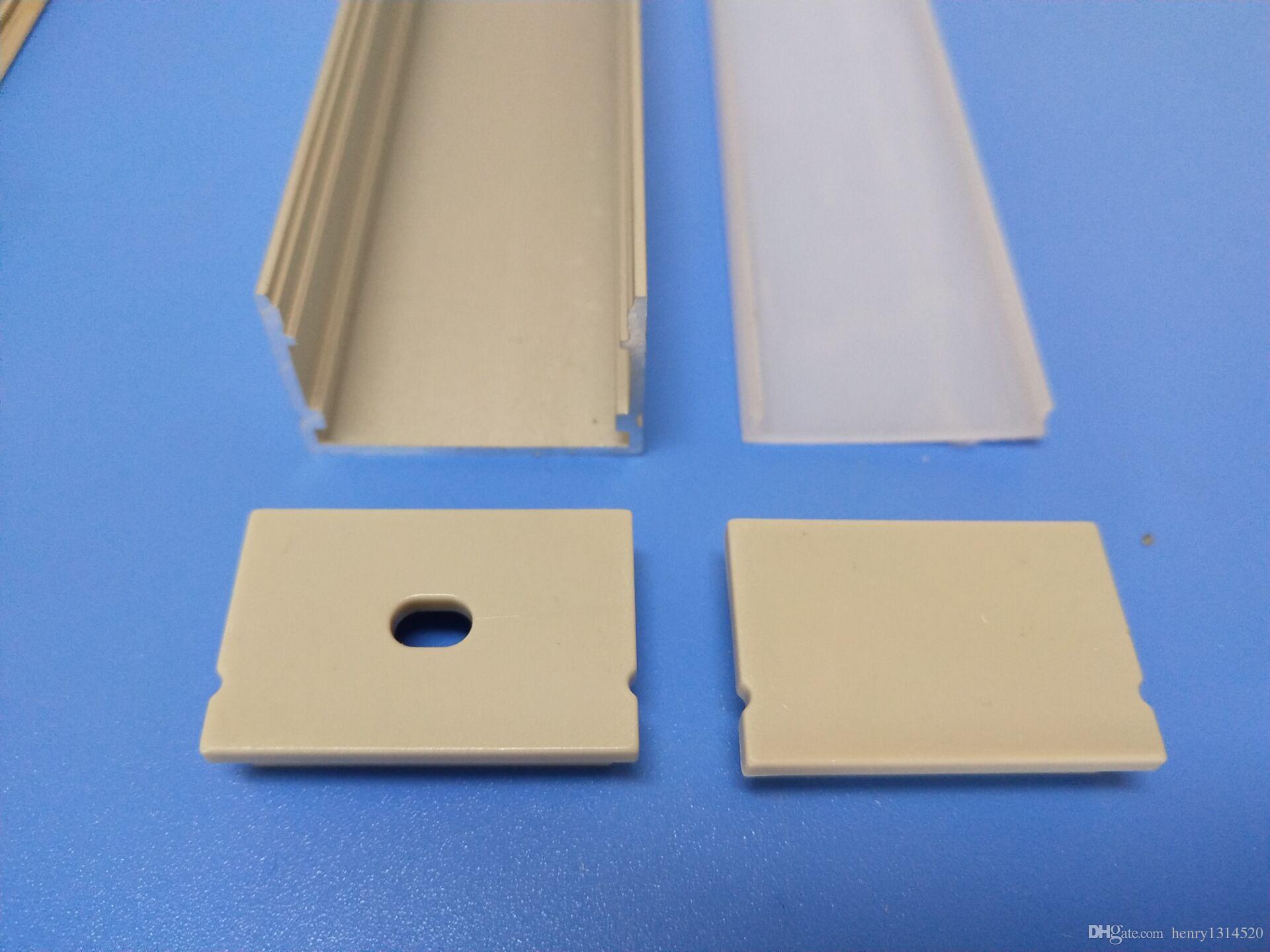 Libero di buona Prezzo profili in lega di alluminio con pareti spesse 6063 ha condotto il profilo in alluminio le luci di striscia principali