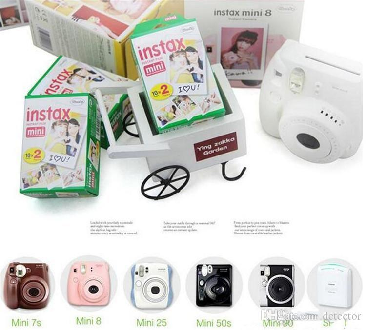 High quality Instax White Film Intax For Mini 90 8 25 7S 50s Polaroid Instant Camera in stock Epacket Free