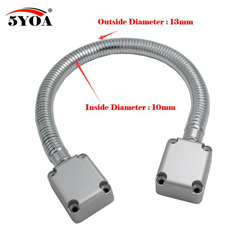 The Cheapest Price Door Loop Electric Exposed Mounting Protection Sleeve Access Control Cable Line For Control Lock Door Lock Stainless Steel Back To Search Resultssecurity & Protection Access Control Accessories