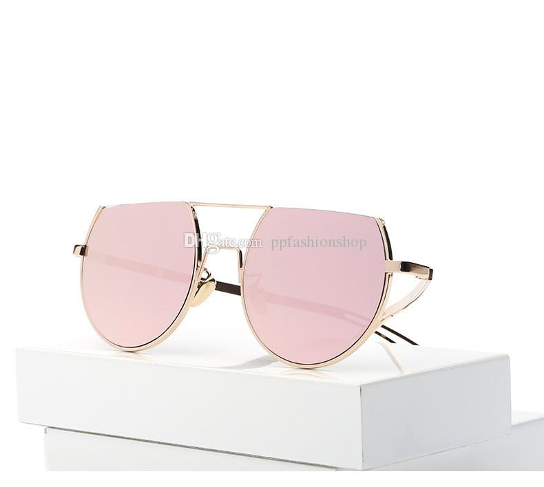 a7ae7764acf Round Metal Sunglasses Women Brand Design Glasses Fashion Vintage Retro For  Woman Top Quality UV400 John Lennon Sunglasses Wiley X Sunglasses From ...
