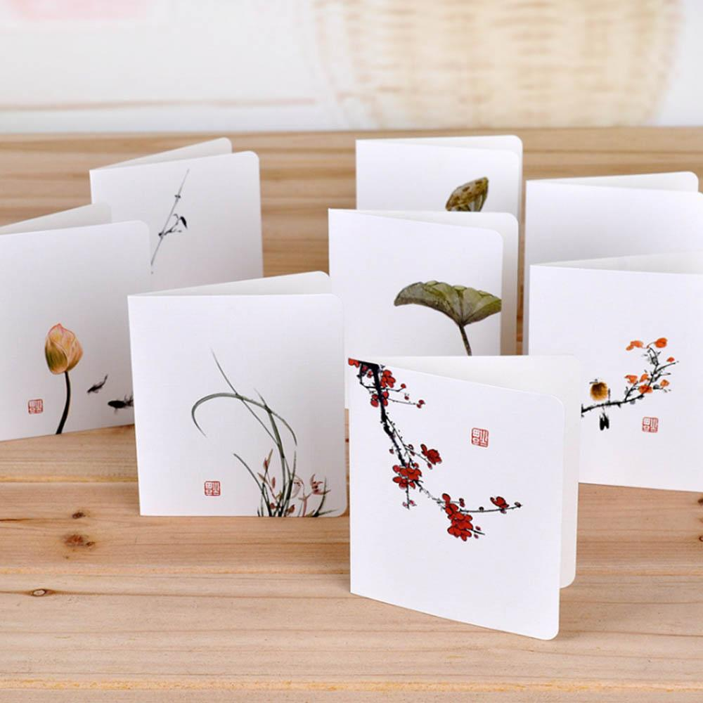 Classical chinese wind flower cards diy creative simple mini classical chinese wind flower cards diy creative simple mini greeting cards for invitations birthday wedding party supplies free e greetings cards free kristyandbryce Gallery