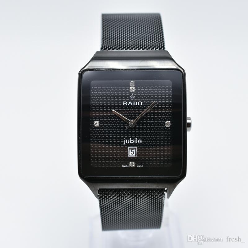 960d3a693e98 Compre Correa De Acero Inoxidable De Malla Magnética Ajustable Cuarzo Aaa  Relojes De Lujo Para Hombre Marca Día Fecha Hombres Diseñador Reloj Hombres  Regalo ...