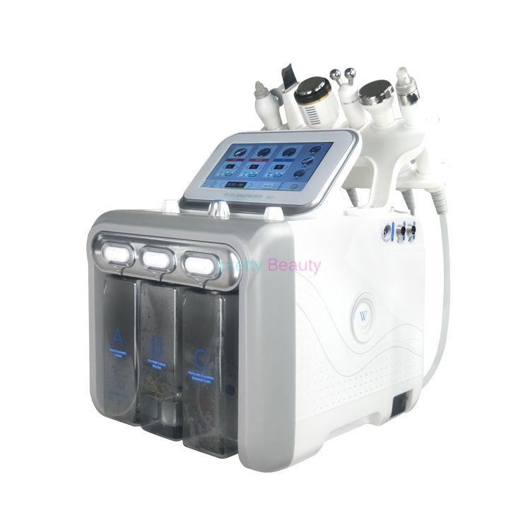 Nouveau 7 en 1 Professionnel Hydro Microdermabrasion Hydra Facial Soins De La Peau Cleaner Eau Aqua Jet Oxygen Peeling Spa Dermabrasion Peel Machine