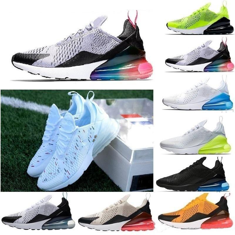 size 40 9c7df 80e3a Compre 2018 270 Recién Llegado Para Mujer Zapatos Para Hombre Verde Negro  Blanco Cojín Triple France Sneakers Atletismo Zapatillas Para Correr EUR  Tamaño 36 ...