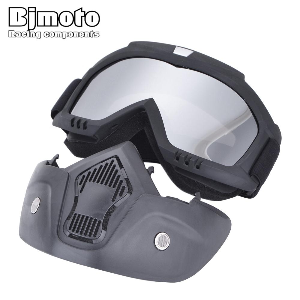 7a61786a6d Motorcycle Helmet Goggle Mask Guy Men Design Breathable Racing ATV Riding  Eye Wear Eyepiece Goggles Motocross Windproof Glasses Old Motorcycle Goggles  Old ...