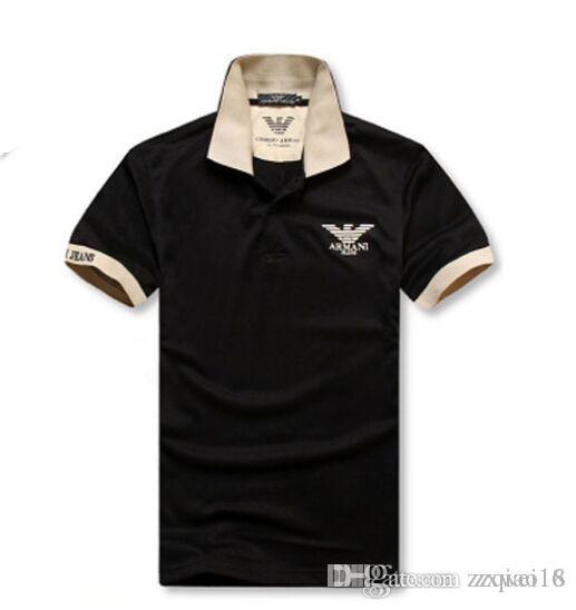 Grosshandel Heisser Verkauf 2019 Neue Polo Shirt Manner Hohe Qualitat