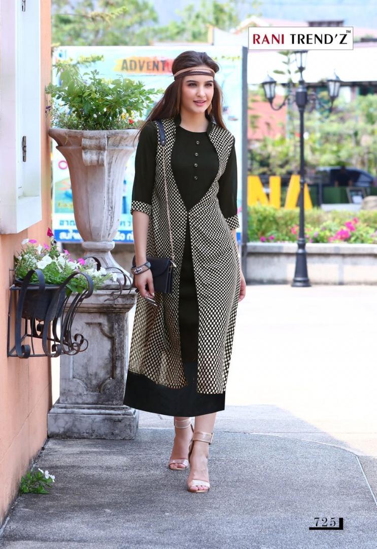 2019 Rani Trend Z Indian Pakistan Bollywood Designer Stylish Tunic