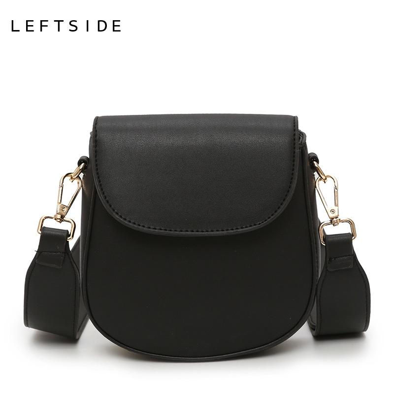d64d32af63 LEFTSIDE Crossbody Phone Bags For Women 2018 Mini Bag Woman Leather Handbags  Small Purses And Handbags Travel Shoulder Bag New Reusable Shopping Bags ...