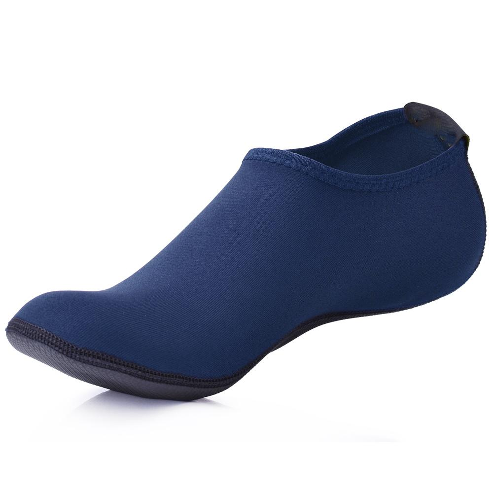 4295d1f195 2019 MWSC Summer New Men Water Shoes Aqua Slippers For Beach Slip On  Waterpark Sandals Sandalias Mujer Slides Navy Blue From Mehome, $16.89 |  DHgate.Com