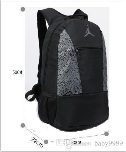 NEW High Quality JORDAN Backpack for Men Women Fashion School Bags ...