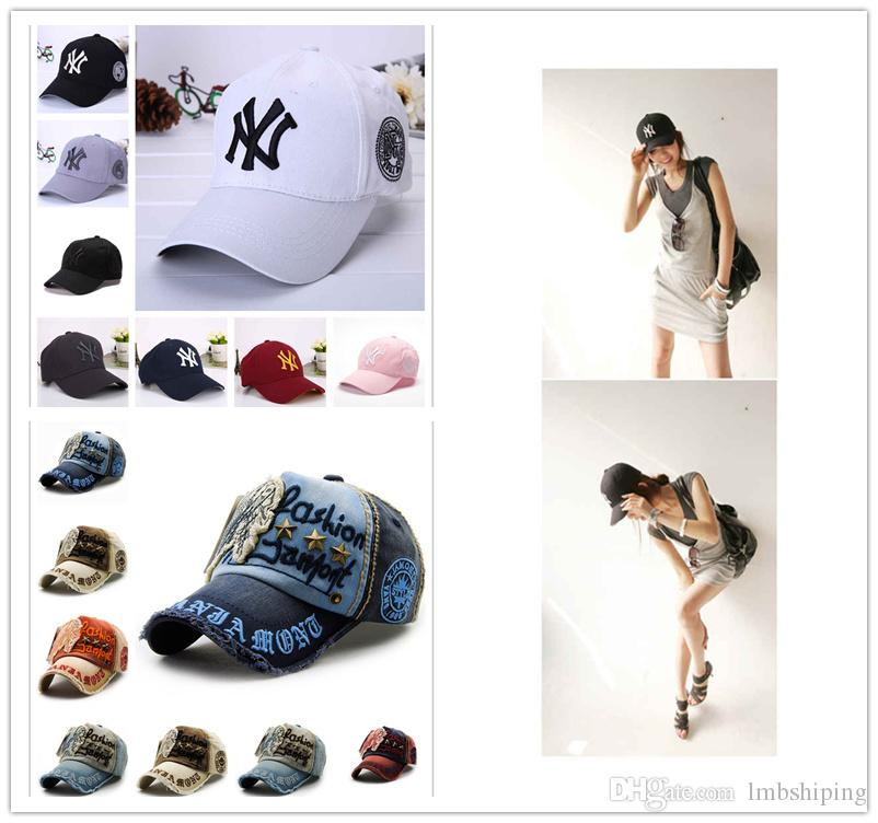 Cool Mens Designer Brand NY Baseball Cap Snapback Dad Hats Caps Fitted  Bucket Hat Men Women Trucker Sun Visor Sports Team Hats 2018 Brixton Hats  Trucker Cap ... 4511d2743
