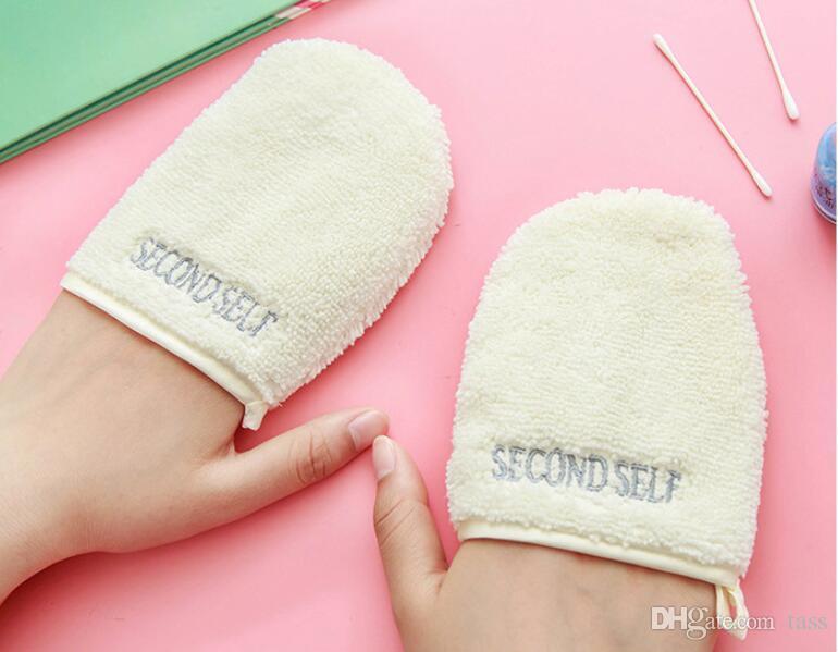 Facial Cloth Face Towel Makeup Remover Cleansing Gloves Wash Face Flutter Beauty Reusable Bath Shower Tools Deep Clean