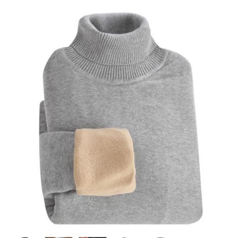2018 Autumn Winter Turtleneck Sweater Men Thicken Warm Casual