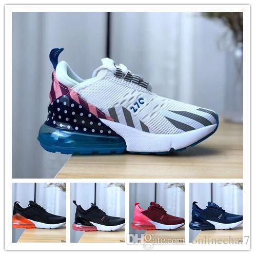 Acquista Nike Air Max Original Kids 270 Sport Scarpe Da Ginnastica Moda  Bambini Scarpe Da Basket Economici Nuove Ragazze Dei Ragazzi Lace Up Scarpe  Da Corsa ... adeaef4d21b