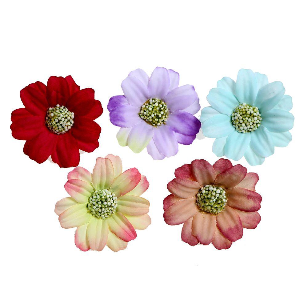 16 Silk Fabric Gerbera Daisy Flowers Supplies Wholesale