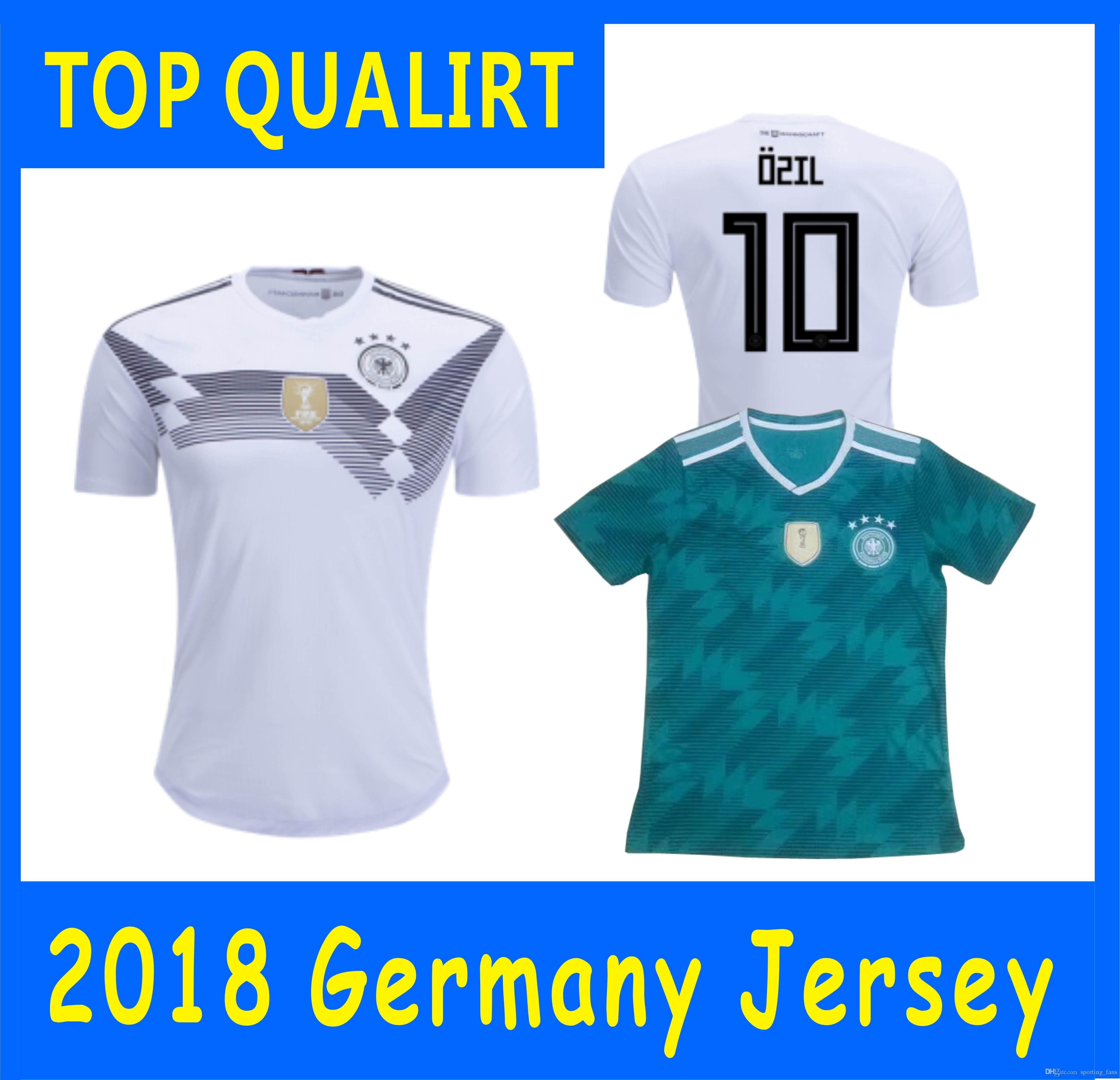 991dc51a4d6 2019 2018 World Cup JERSEYS Football Jerseys Mats Hummels Leon Goretzka Julian  Draxler Thomas Muller Toni Kroos Mesut Ozil Timo Werner From Sporting fans