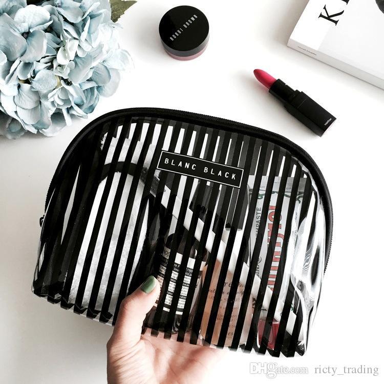 7b57ce9f09ba Travel Organizer PVC Waterproof Makeup Bags Men Women Cosmetic Wash ...