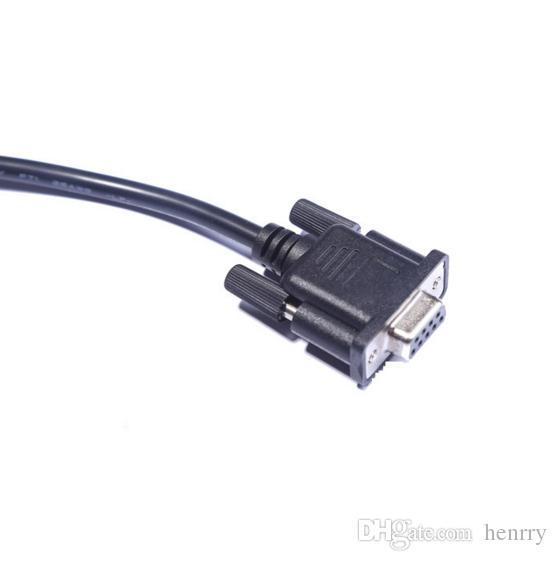 OBDII DB 9P tot 16P-kabel DB9 naar OBD2 16PIN OBDII 16 PIN MANNELIJK NAAR DB9 PIN-vrouw