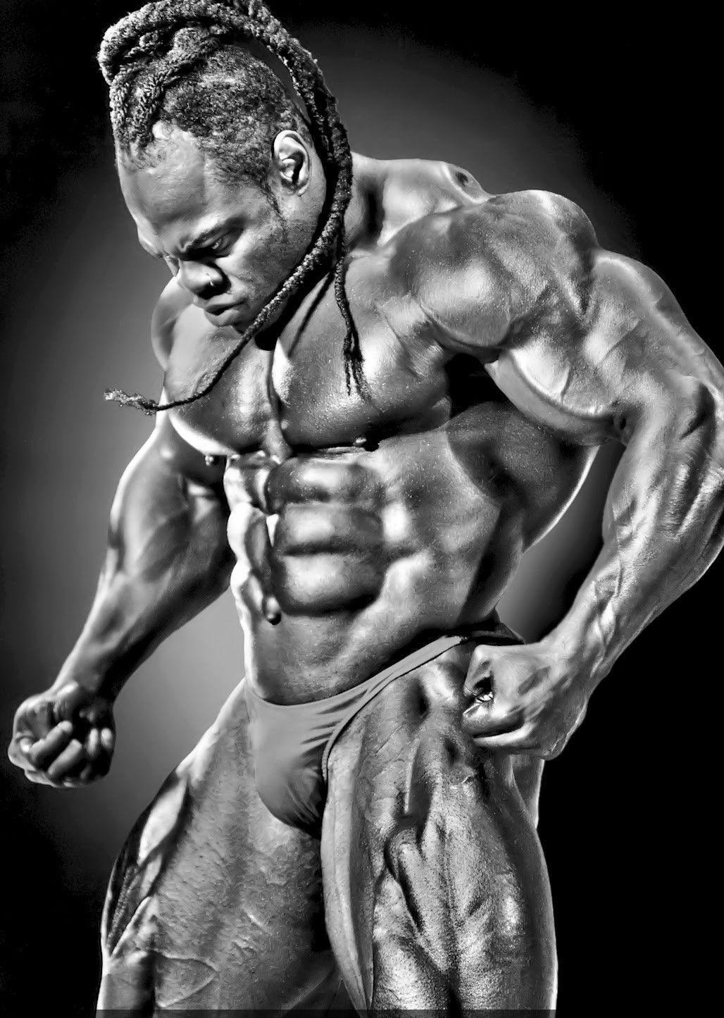 "Kai Greene BodyBuilding Muscle Man Home Decor Art Silk Poster 24x36"" 24x43"""