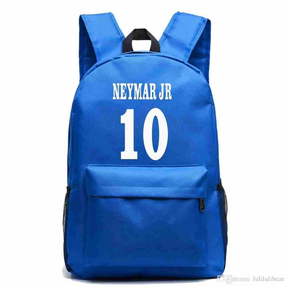 نيمار جونيور قماش ظهره المراهقين لكرة القدم حقيبة الظهر بوي فتاة حقيبة مدرسية للطلاب الرجال النساء rucksack mochila اجتماعيون