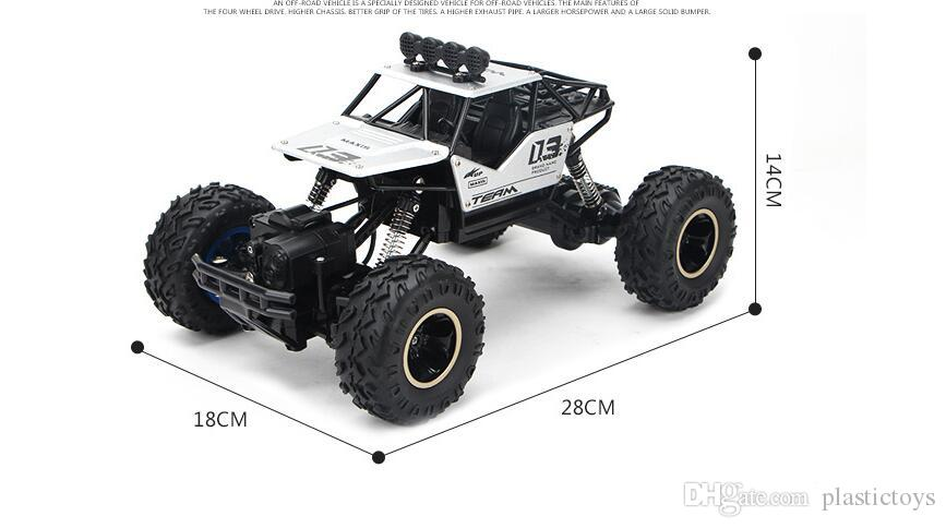 High Speed 4WD Radio RC Car 2.4G Off-Road Car 4x4 Driving Controle Remoto Rc Drift Car Vehicle Hobby Toy