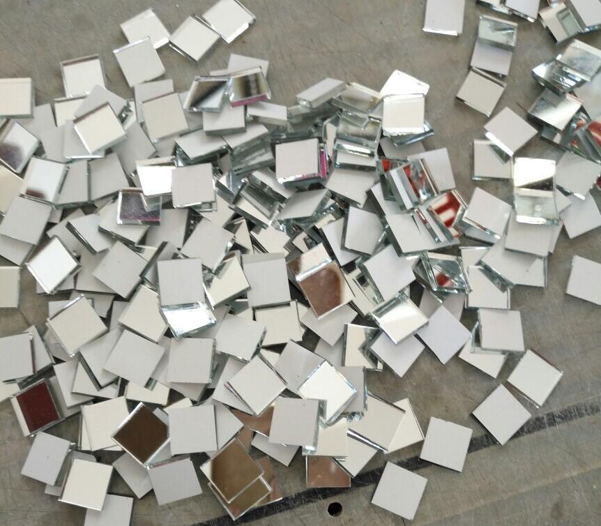 Xcm Small Glass Square Craft Mirrors Bulk Mosaic Tiles Cheap - Bulk tile sale