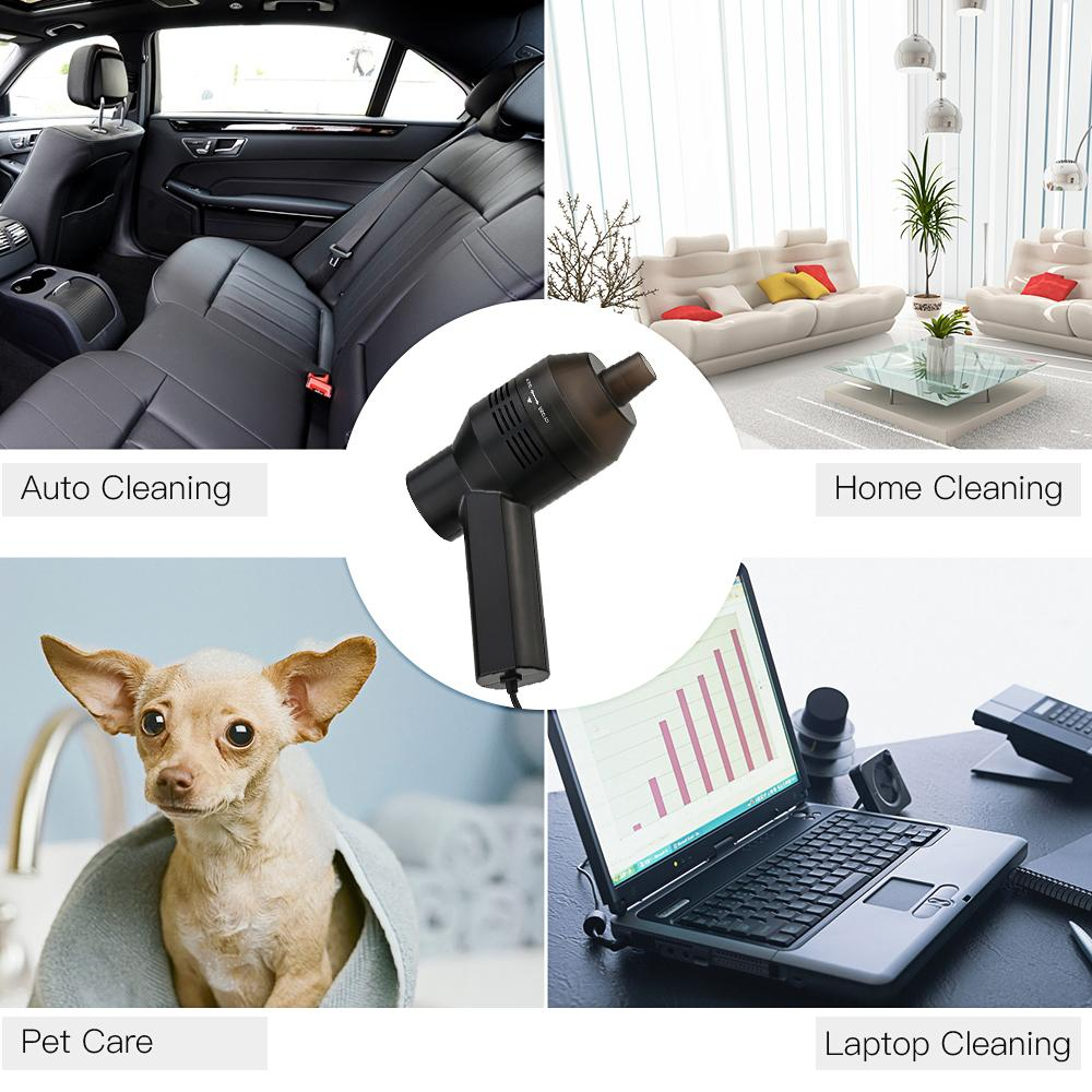 Mini USB Desk Aspirapolvere elettrico Kit tastiera portatile la raccolta delle polveri la pulizia delle briciole PC Desktop Trucco Borsa Pet House