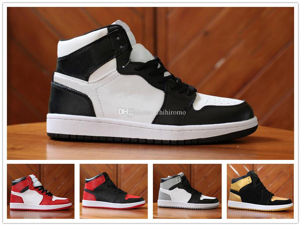 High Quality 2018 New 1 High OG Basketball Shoes Game Royal Banned Shadow  Bred Toe Men Women 1s Shattered Backboard Silver Medal Sneakers Boys  Running Shoes ... f19819719