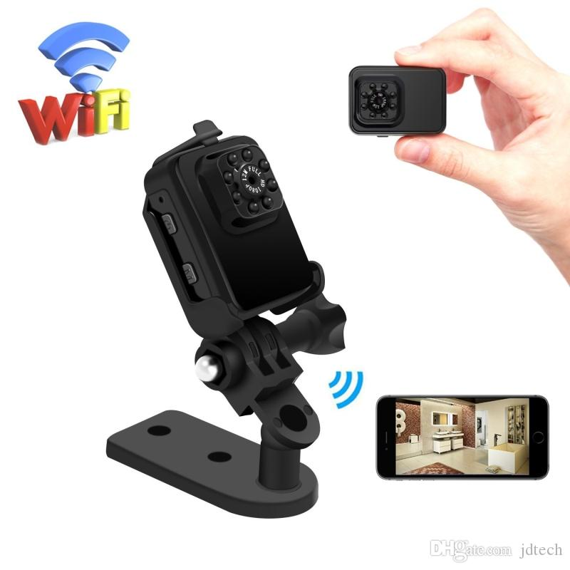 HD WiFi Mini Camera Night Vision Outdoor/Indoor Wireless Sports DVR Motion Detection Security Surveillance Camcorder Video Recorder