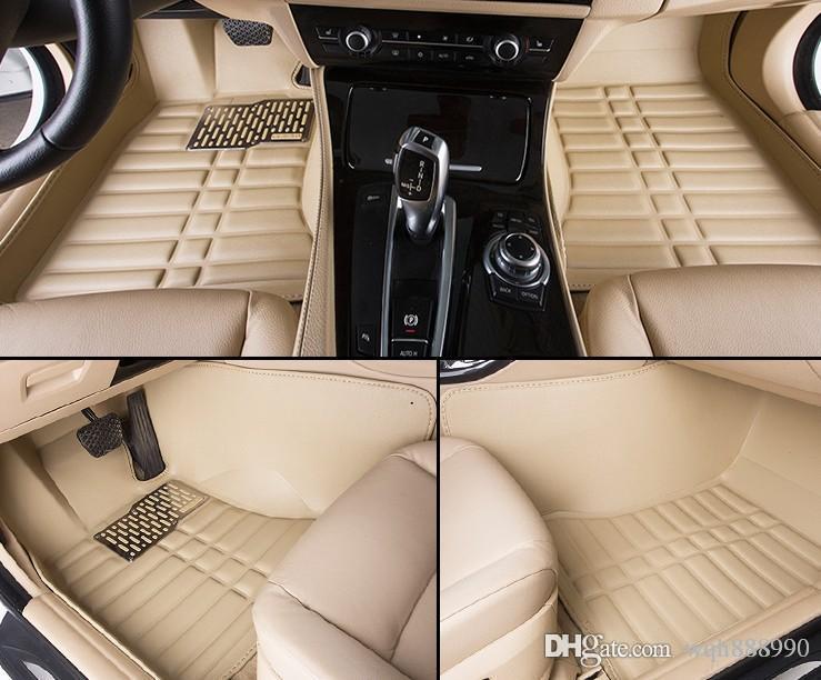 2018 Chigh Quality Car Floor Mats For Ford Fiesta Mk7 Edge Escape