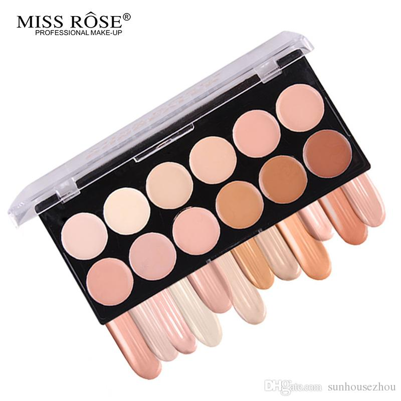 Brighten Face Eye Cream Concealer Palette Make Up Bronzer Contouring Face Brand Makeup Natural Skin Corretivo Cover dark circles