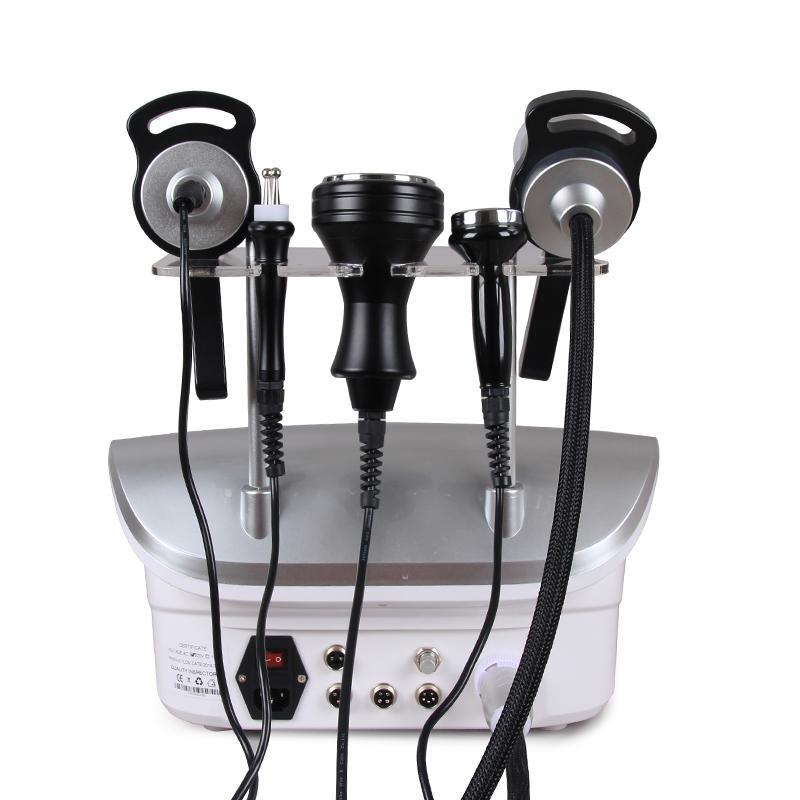 Eficaz 2018 Nova Chegada 5 em 1 40KHZ Cavitação Ultra-sônica Remoção de Celulite Vacuum Massagem RF Máquina de Levantamento Da Pele para o corpo e rosto