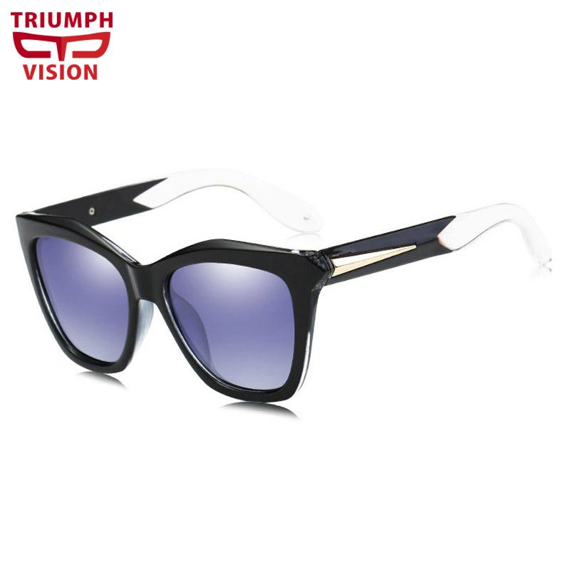 9131a2f06b4 TRIUMPH VISION Polarized Women Driving Sunglasses Cat Eye Cool ...